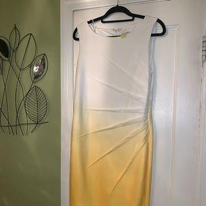 Calvin Klein Sunburst Ombré Dress
